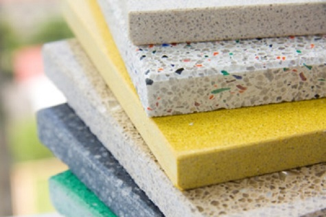 Cách phân biệt đá nhân tạo gốc thạch anh và đá nhân tạo Solid surface