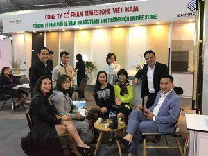Timstone Việt Nam góp mặt cùng Công ty Cổ phần Phú Sơn trong hội chợ VietBuild