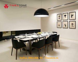 Đá nhân tạo làm bàn ăn: Xu hướng mới trong thiết kế nội thất