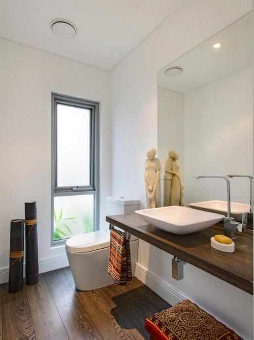Biến hóa phòng tắm nhỏ, cũ thành không gian sang trọng, tiện nghi