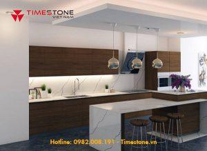 Lý do đá nhân tạo gốc thạch anh được ưa chuộng trong thiết kế nội thất gian bếp