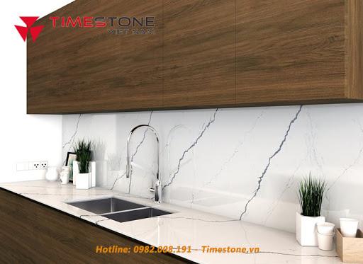 Đá nhân tạo 'soán ngôi' đá tự nhiên trong thiết kế nội thất