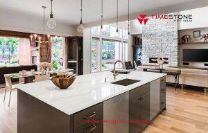 Giúp các bà nội trợ mở rộng diện tích gian bếp với đá nhân tạo gốc thạch anh cao cấp Empirestone